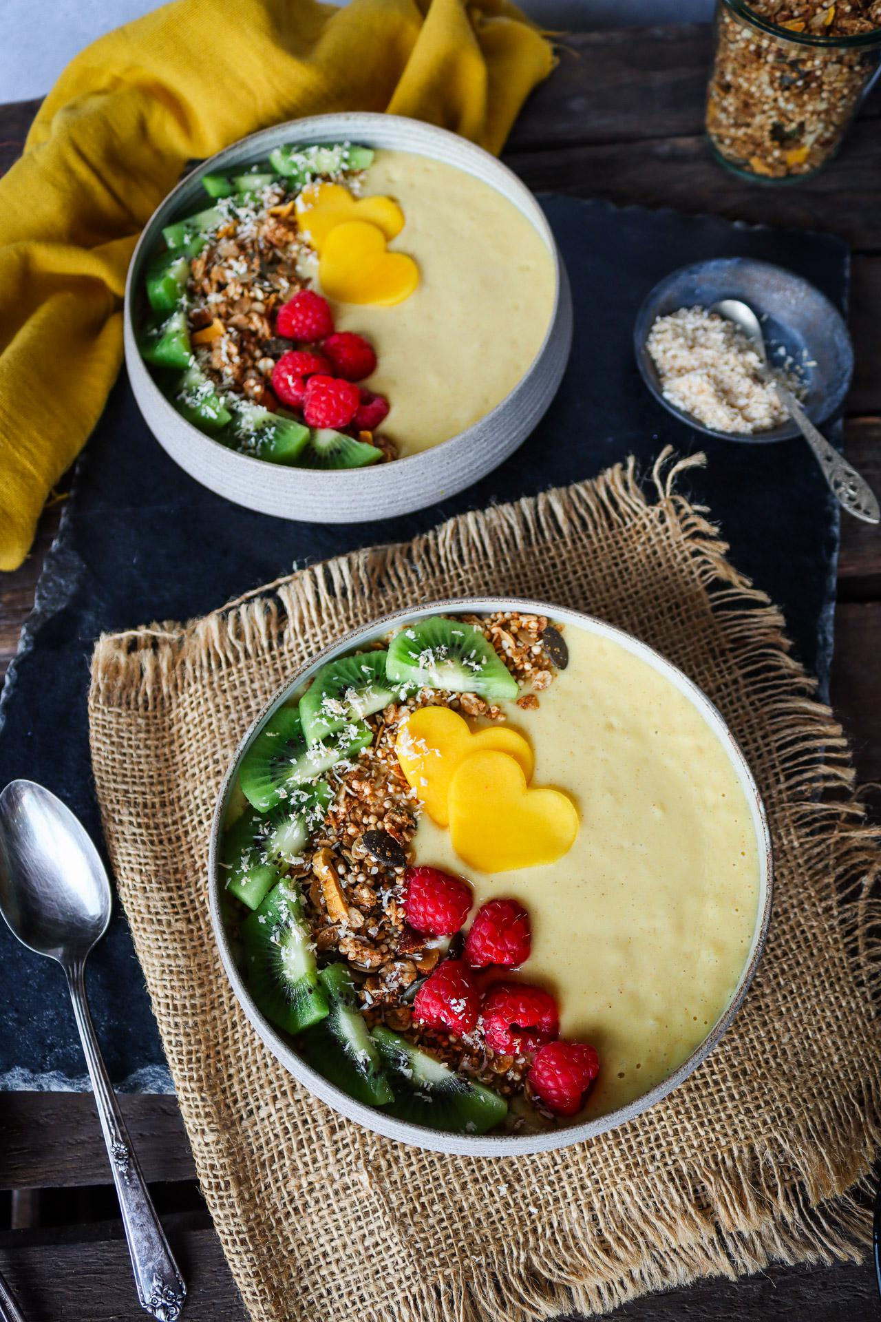 Main image of Sweet & Spicy Golden Smoothie Bowl
