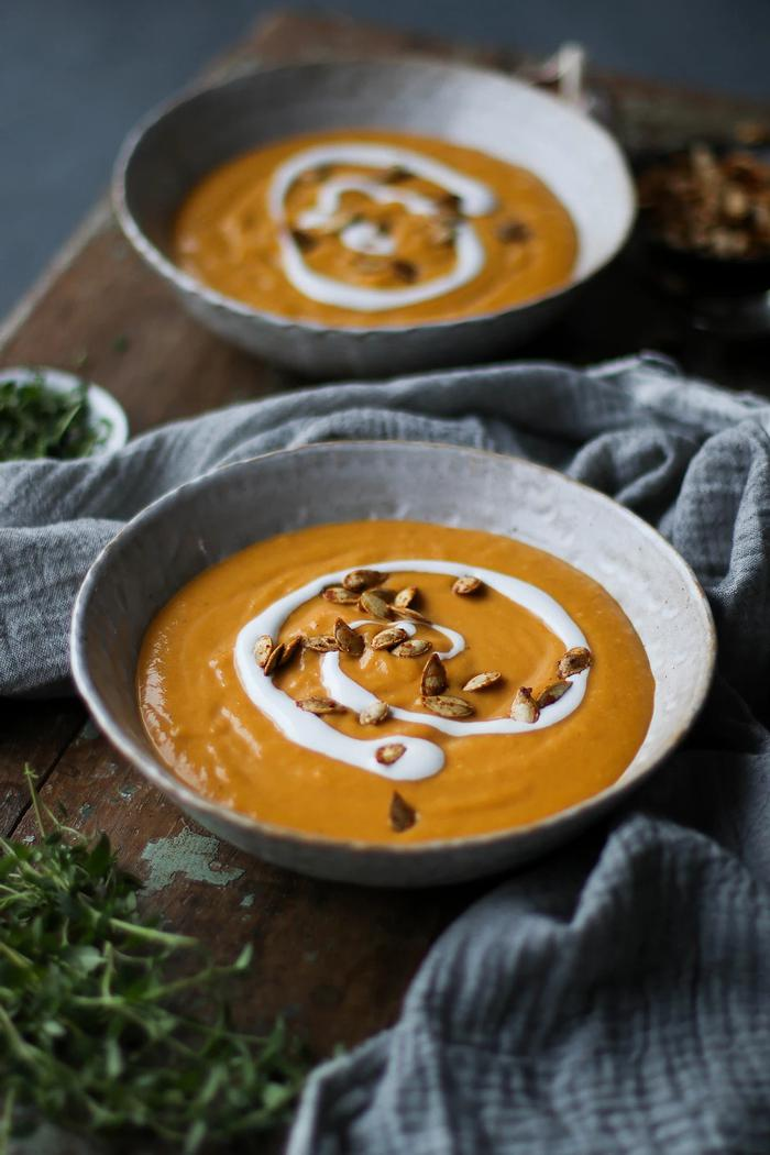Image of Roasted Vegetable Harvest Soup