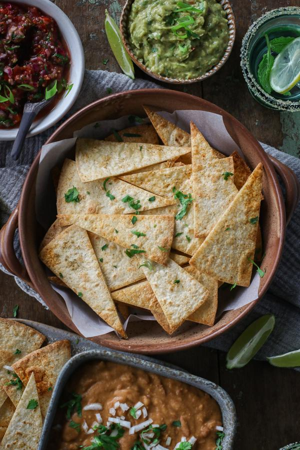 image of Baked Tortilla Chips