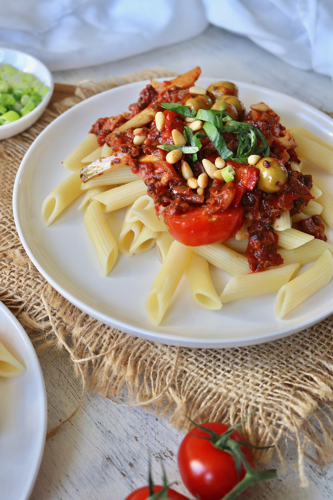 Main image of Pasta with Vegan Bolognese Sauce