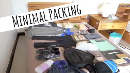 thumbnail image of How to Pack for Minimalist Traveling