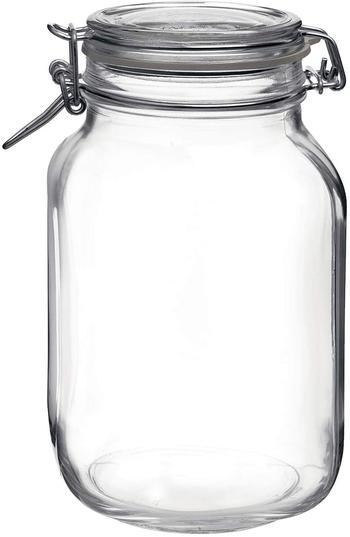 image of Large glass storage jar