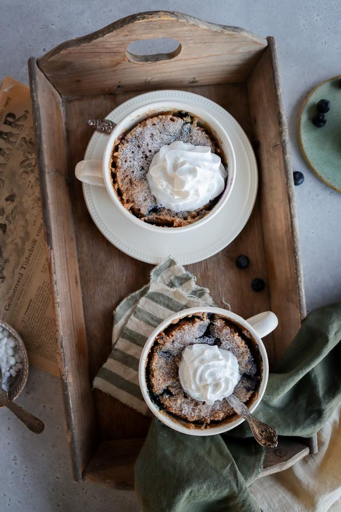 Image of Vegan Blueberry Mug Cake
