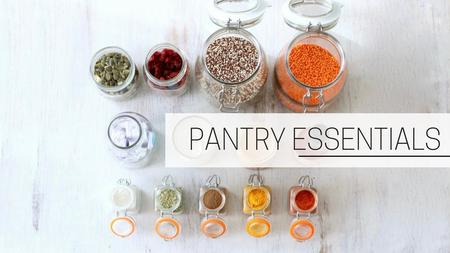 thumbnail image of Pantry Essentials