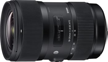 image of Sigma 18-35mm lens