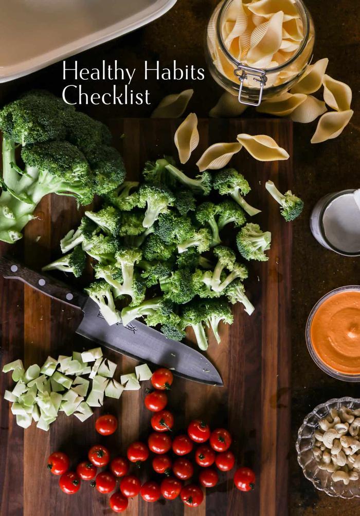 image of Healthy Habits Checklist