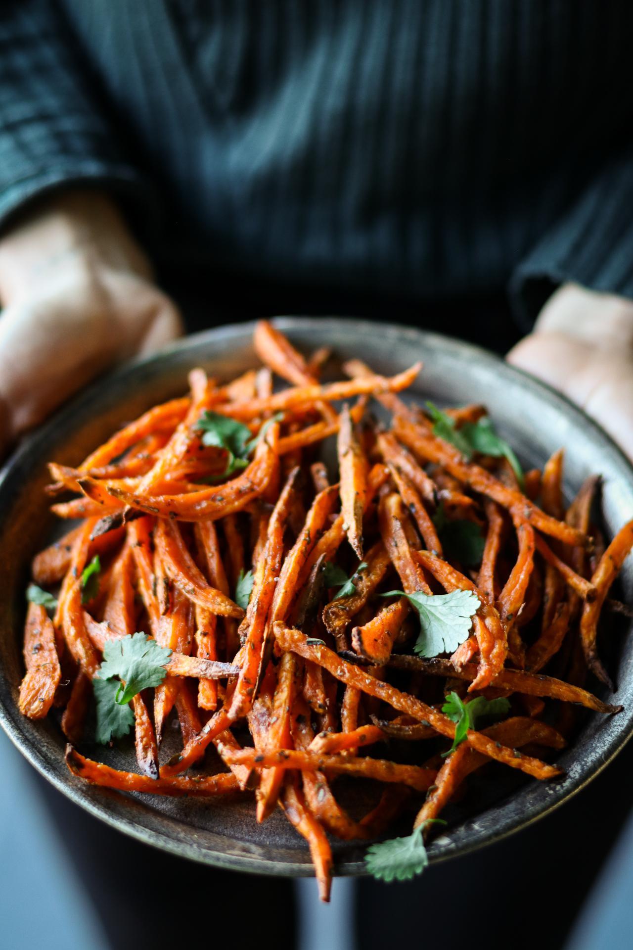 Main image of Crispy Oven-Roasted Sweet Potato Fries