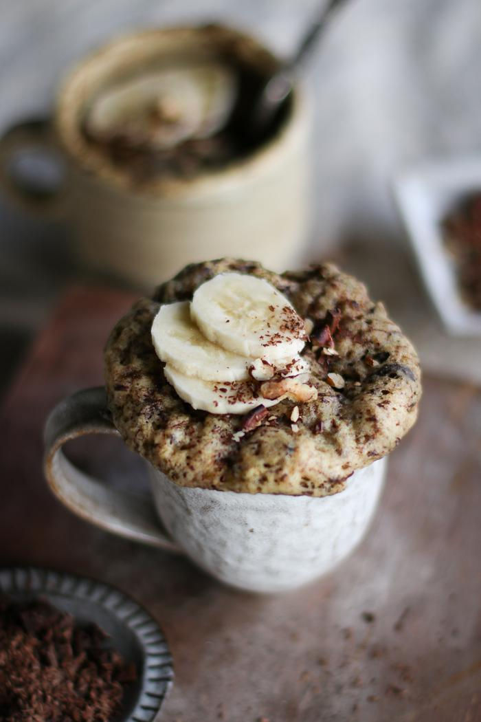Image of Banana Bread in a Mug
