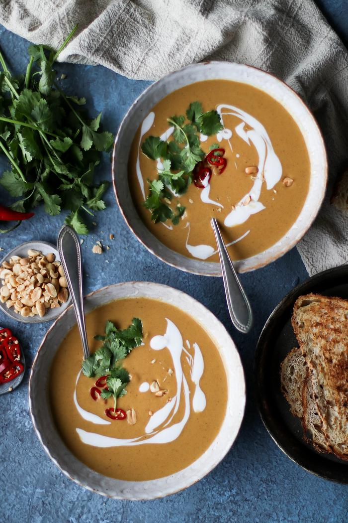 Image of Peanut Butter Curry Soup