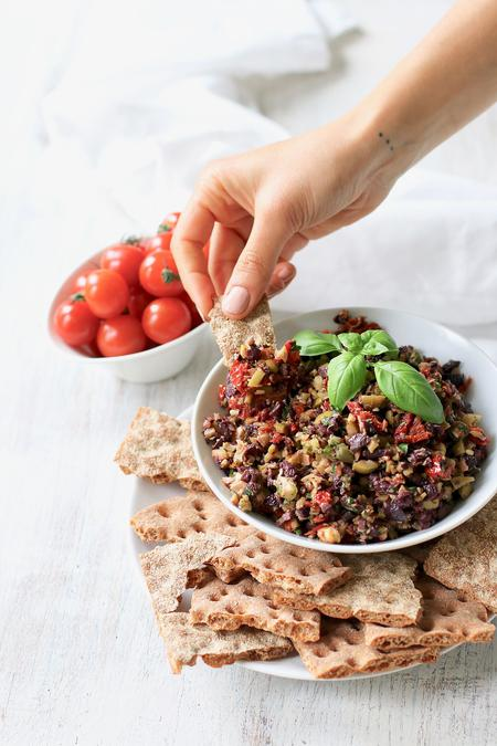 image of Black & Green Olive Tapenade