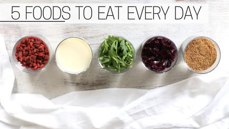 thumbnail image of 5 Foods I Eat Everyday
