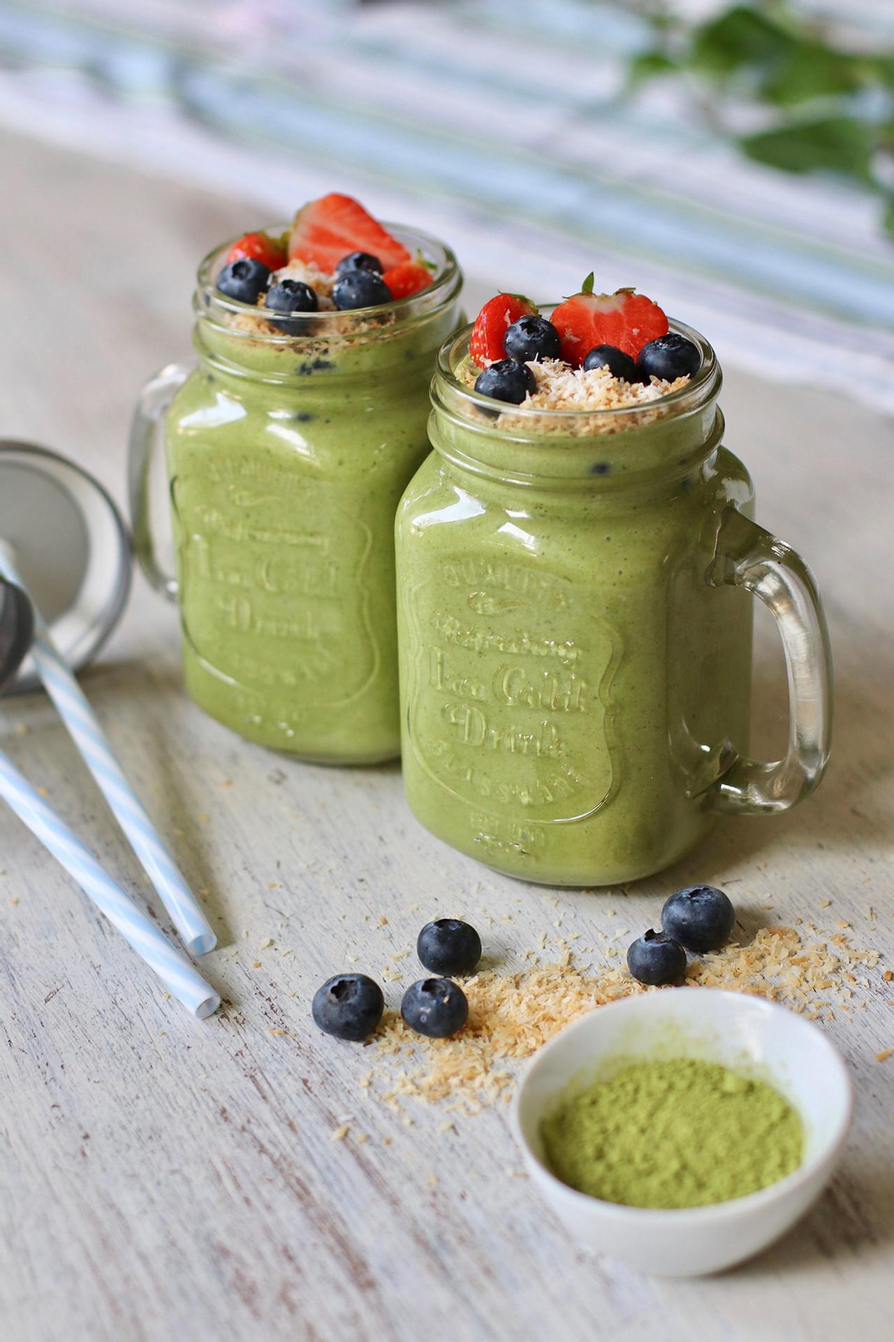 Main image of Tropical Matcha Green Smoothie