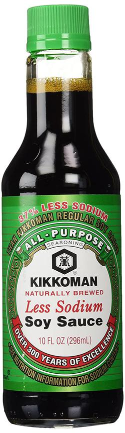 image of Sodium-reduced soy sauce