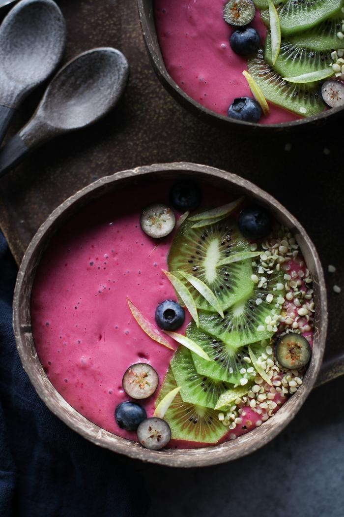 Image of Raspberry Lemonade Smoothie Bowl