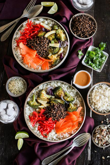 image of Coconut Roasted Lentil Nourish Bowl