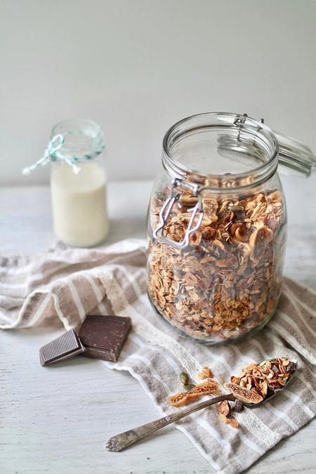 image of Chocolate Hazelnut & Fig Granola