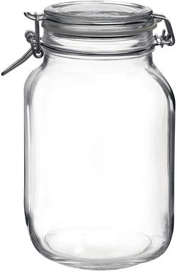 image of Large glass storage jar