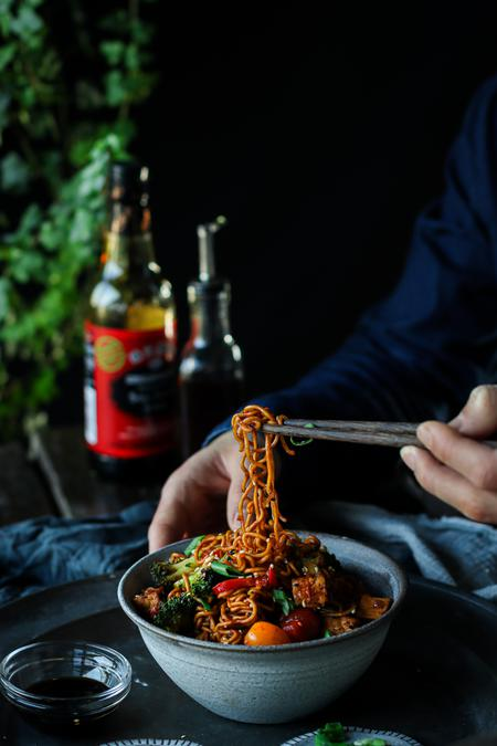 image of Spicy Garlic Wok Noodles