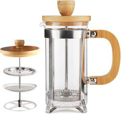 image of Bamboo french press