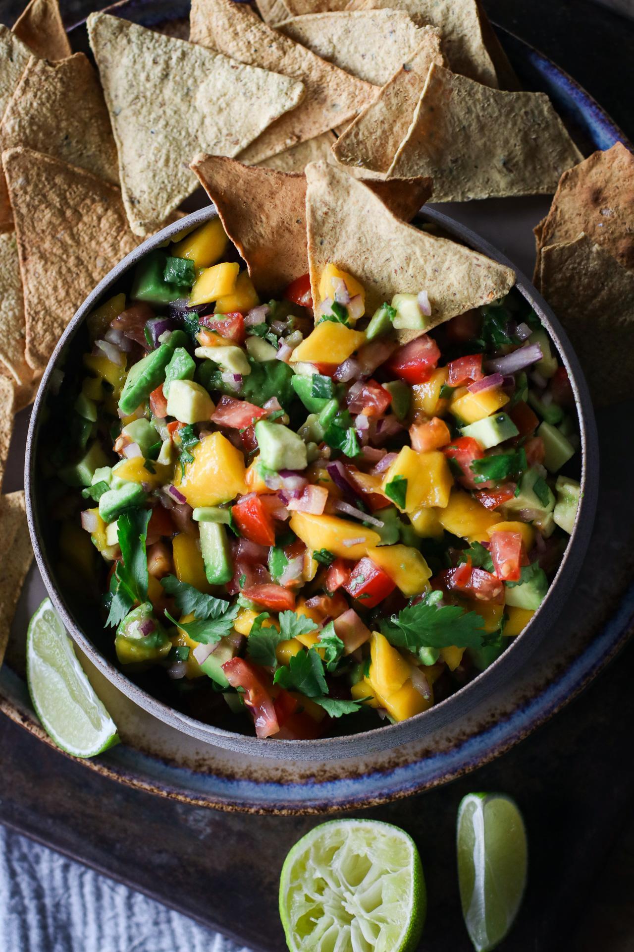 Main image of Chunky Avocado Mango Salsa