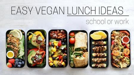 thumbnail image of Make-Ahead Vegan Lunch Ideas