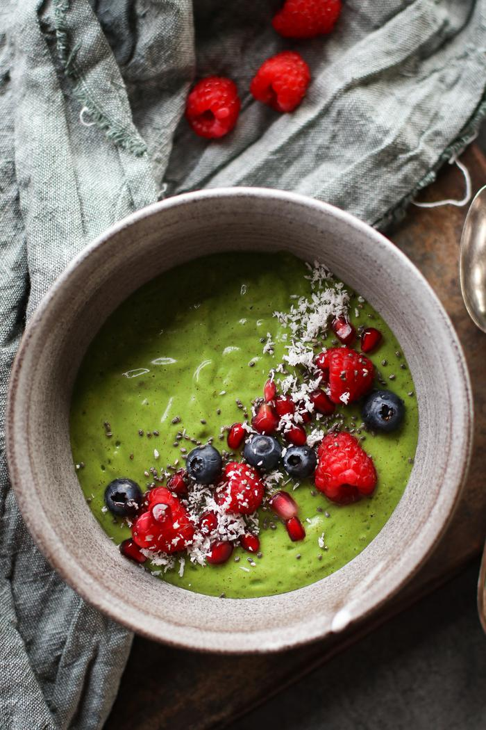 Image of The Extraordinary Green Smoothie Bowl