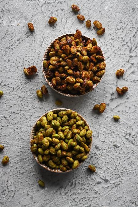 image of Roasted Edamame: 2 Ways