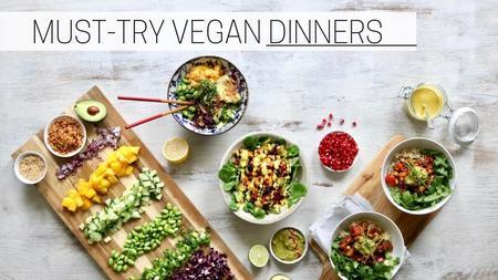 thumbnail image of Easy Vegan Dinner Recipes