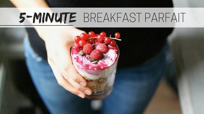 image of Breakfast berry parfait