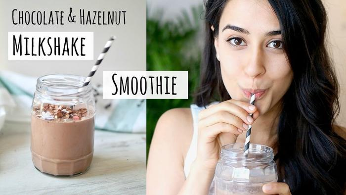 image of Chocolate & Hazelnut Milkshake Smoothie