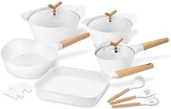 image of White pot & pan set