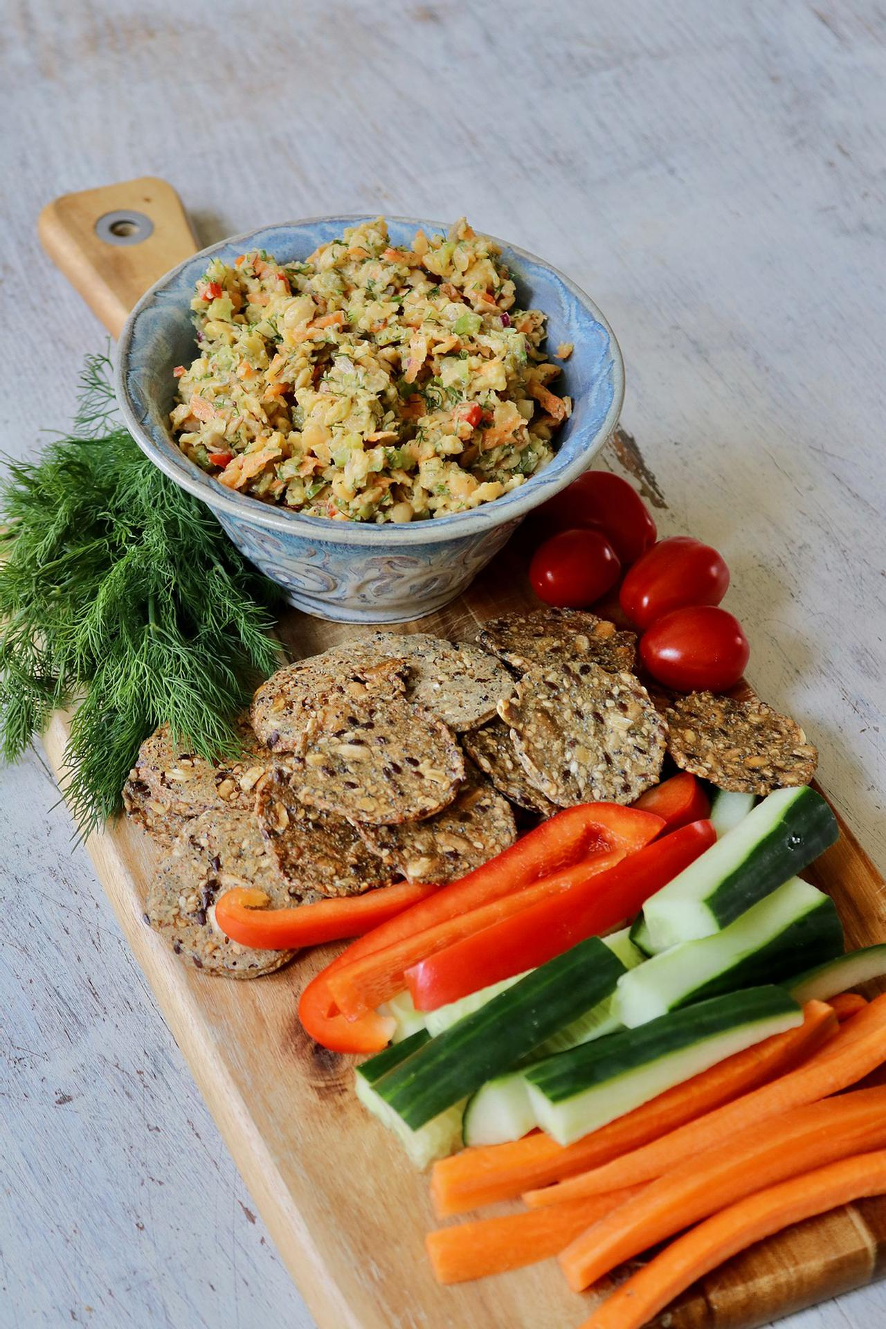 Main image of Garden Chickpea Dill Dip