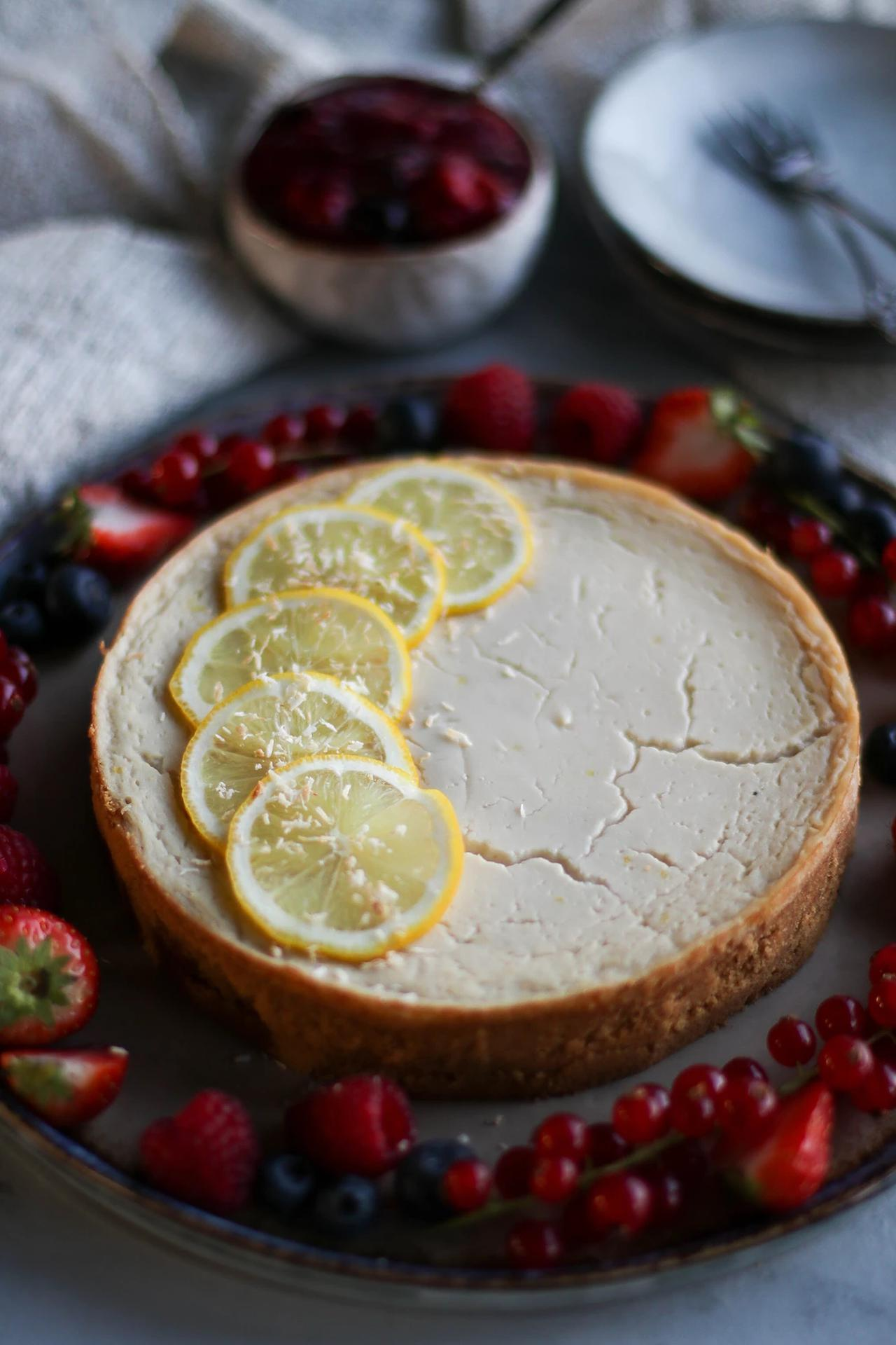 Main image of Coconut Lemon Custard Tart