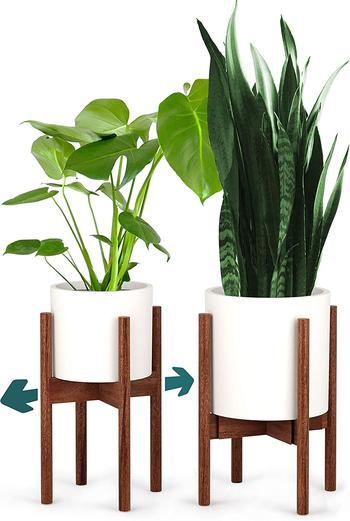 image of Wooden plant stand