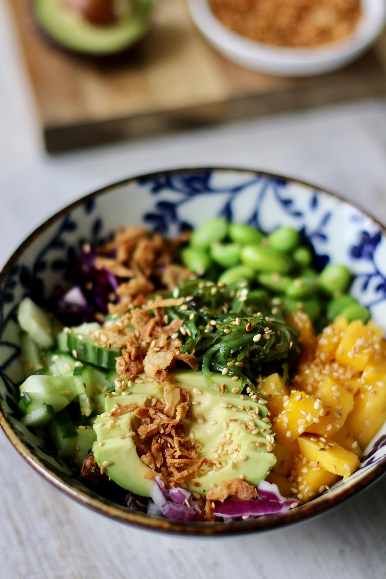 Main image of Deconstructed Sushi Bowl with Sweet Sesame Dressing