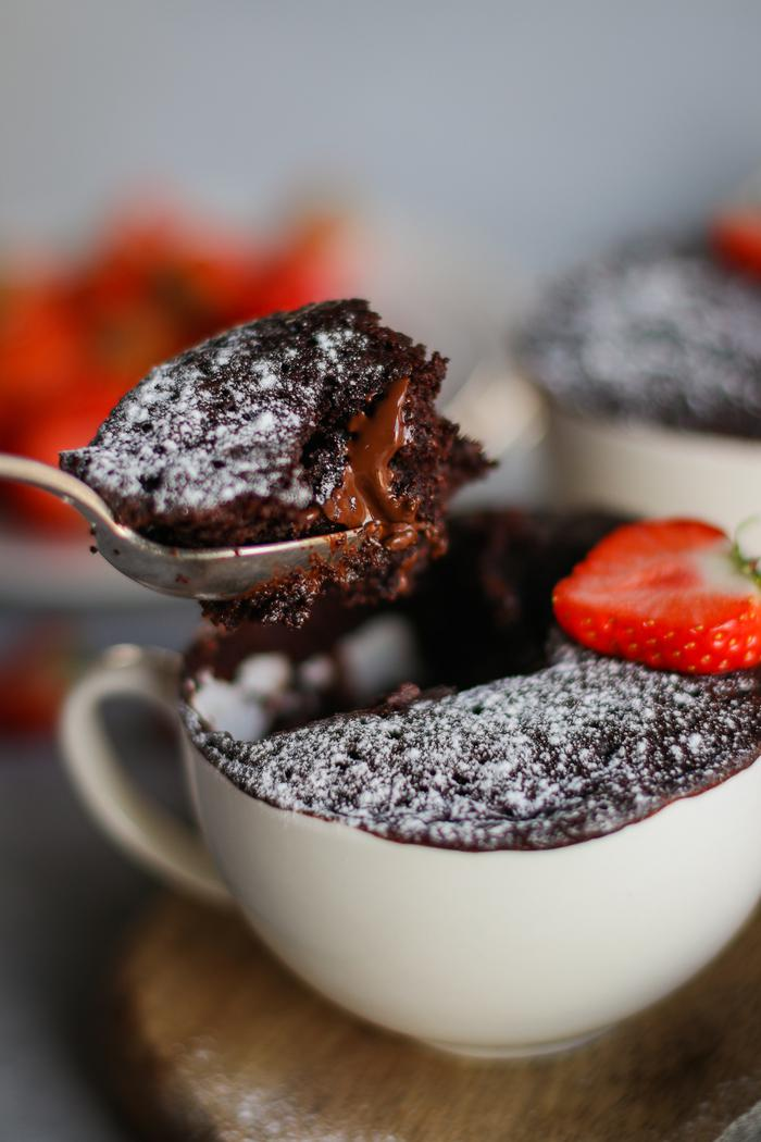 Image of Double Chocolate Mug Cake