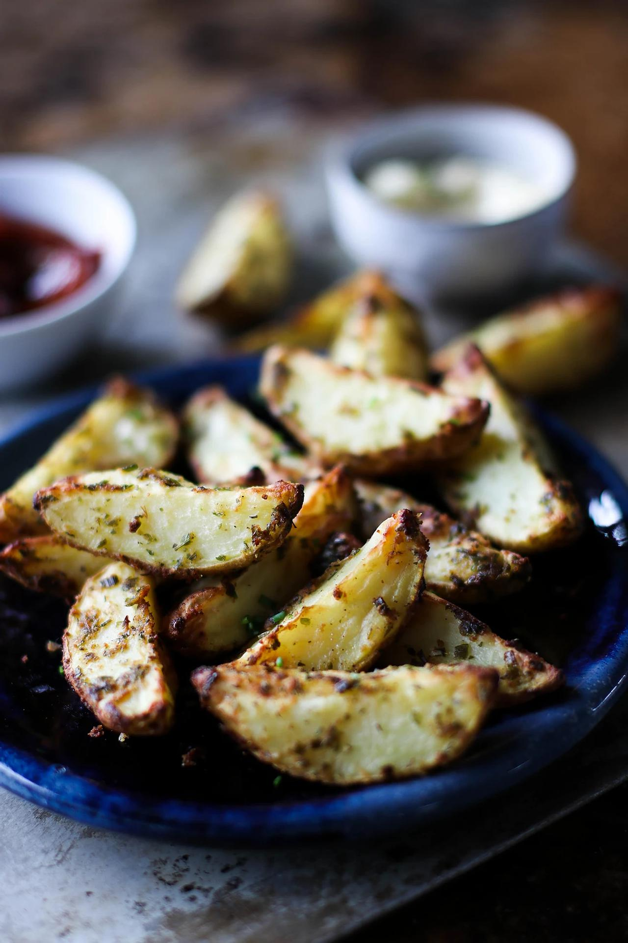 Main image of Ranch Roasted Potato Wedges