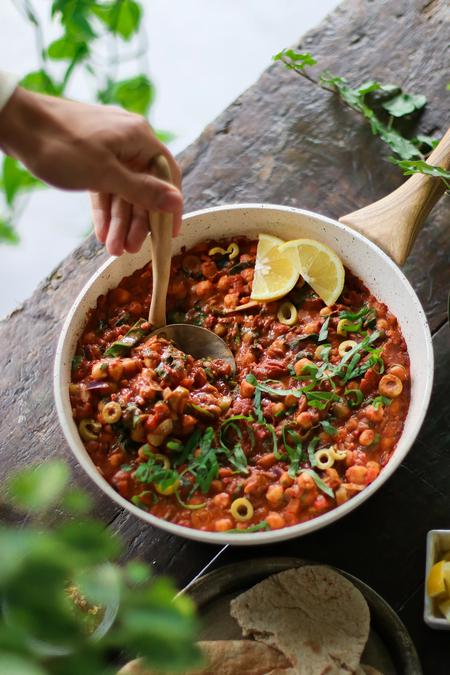 image of One-Pot Tomato & Chickpea Stew