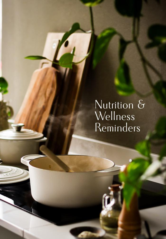 image of Nutrition & Wellness Reminders