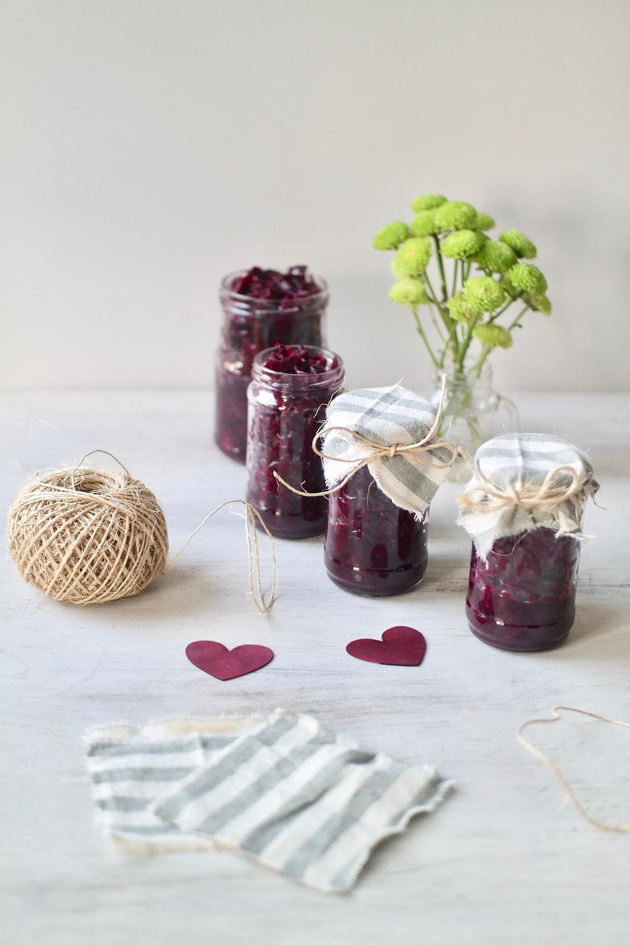 Main image of Beetroot & Red Cabbage Sauerkraut