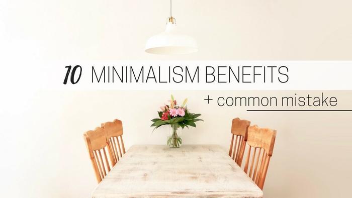 image of Benefits of minimalism