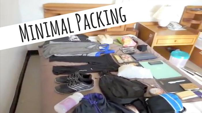 image of How to Pack for Minimalist Traveling