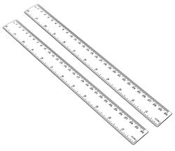 image of Clear ruler