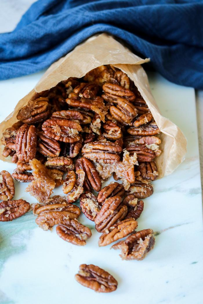 Image of Candied Coconut & Cinnamon Pecans