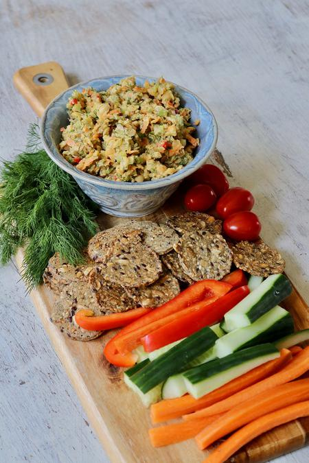 image of Garden Chickpea Dill Dip