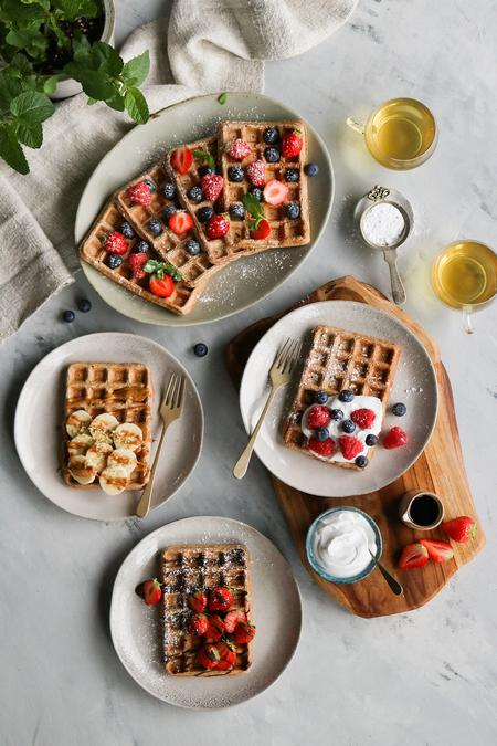 image of Vegan Breakfast Waffles