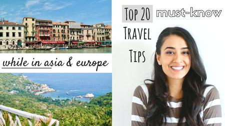thumbnail image of Top Travel Tips