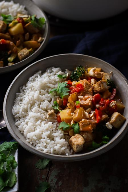 image of Coconut & Tofu Thai Red Curry