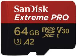 image of Sandisk 64gb micro sd card