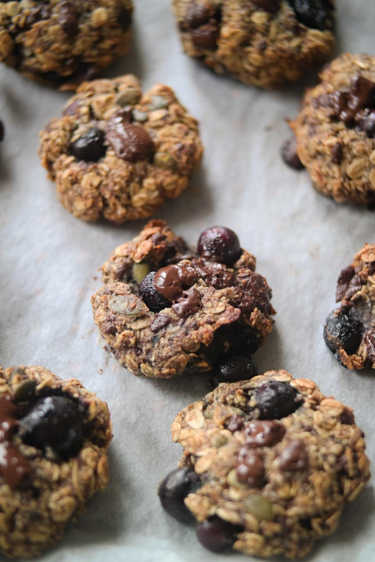 Main image of One-Bowl Blueberry Almond Breakfast Cookies
